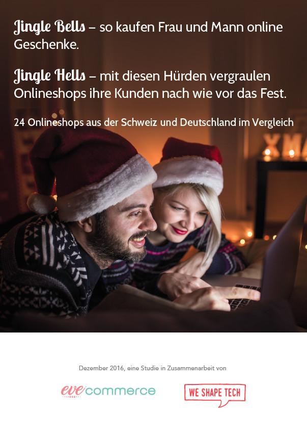 Jingle Bells oder Jingle Hells – Weihnachtsgeschenke-Online-Studie 2016