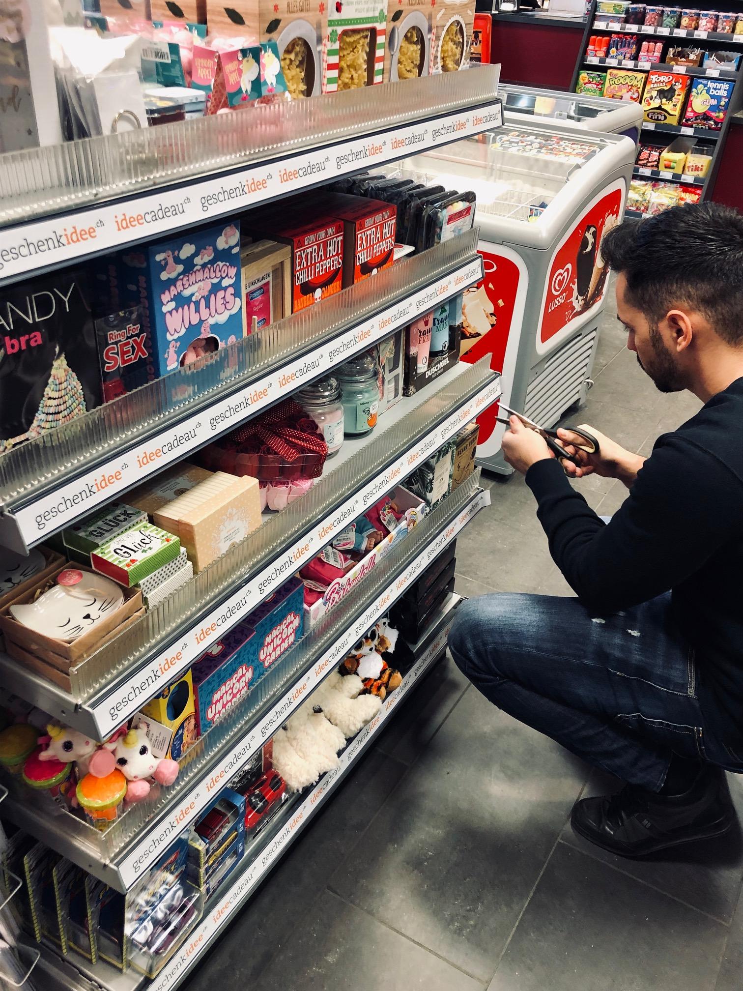 Onlinehändler geschenkidee.ch macht einen Ausflug in die Offline-Welt